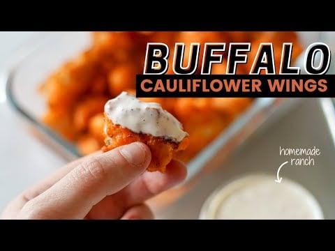 How to Make Baked Buffalo Cauliflower Bites | Workweek Lunch