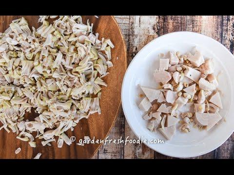 How To Prepare Jackfruit