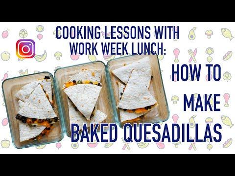 How to Meal Prep Quesadillas (my favorite hack!)