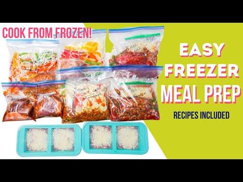 4 Freezer Meal Prep Ideas! | Workweek Lunch