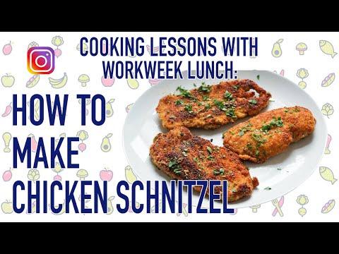 How to Make Chicken Schnitzel (My favorite childhood meal!)