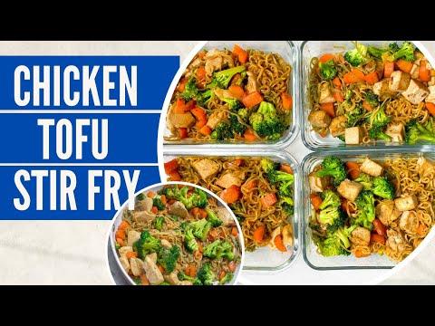 Easy Meal Prep Recipe | Chicken or Tofu Stir fry