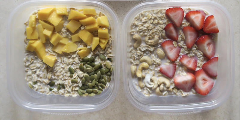 Breakfast Meal Prep Overnight Oats Master Recipe