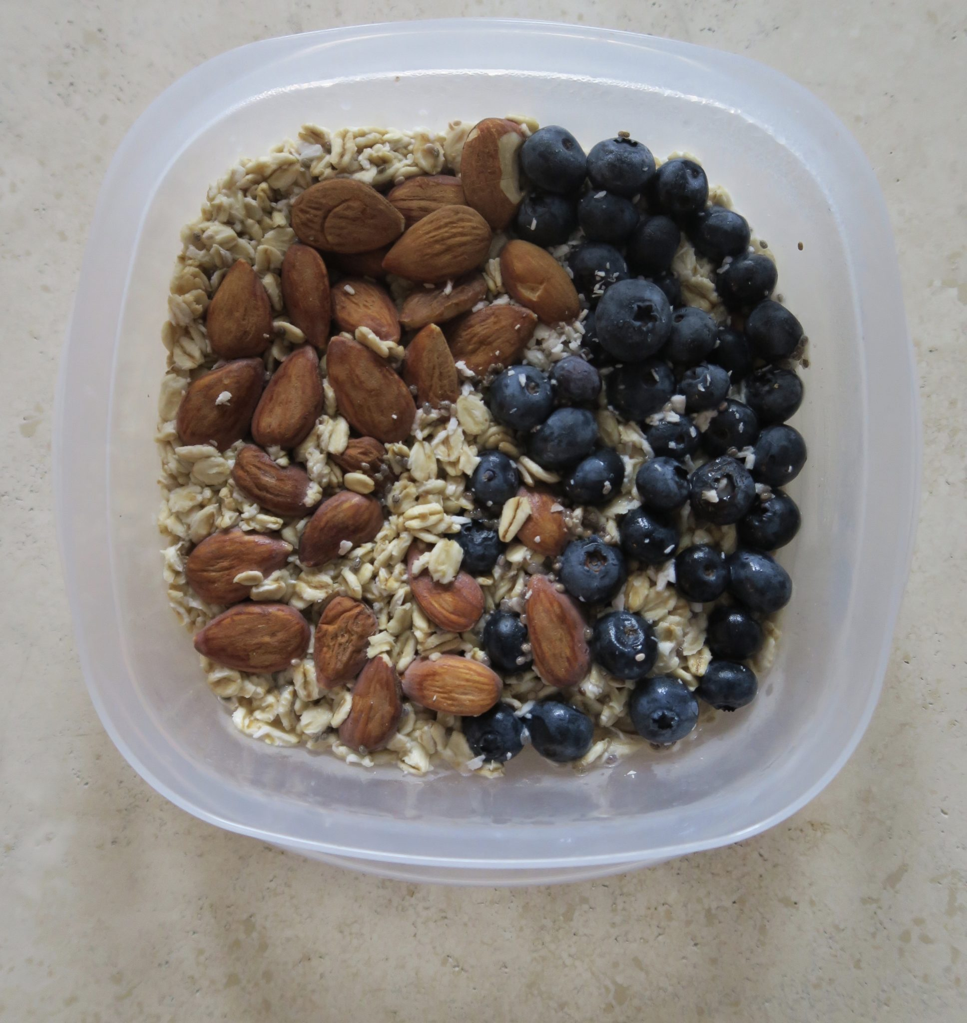 overnight oats breakfast meal prep