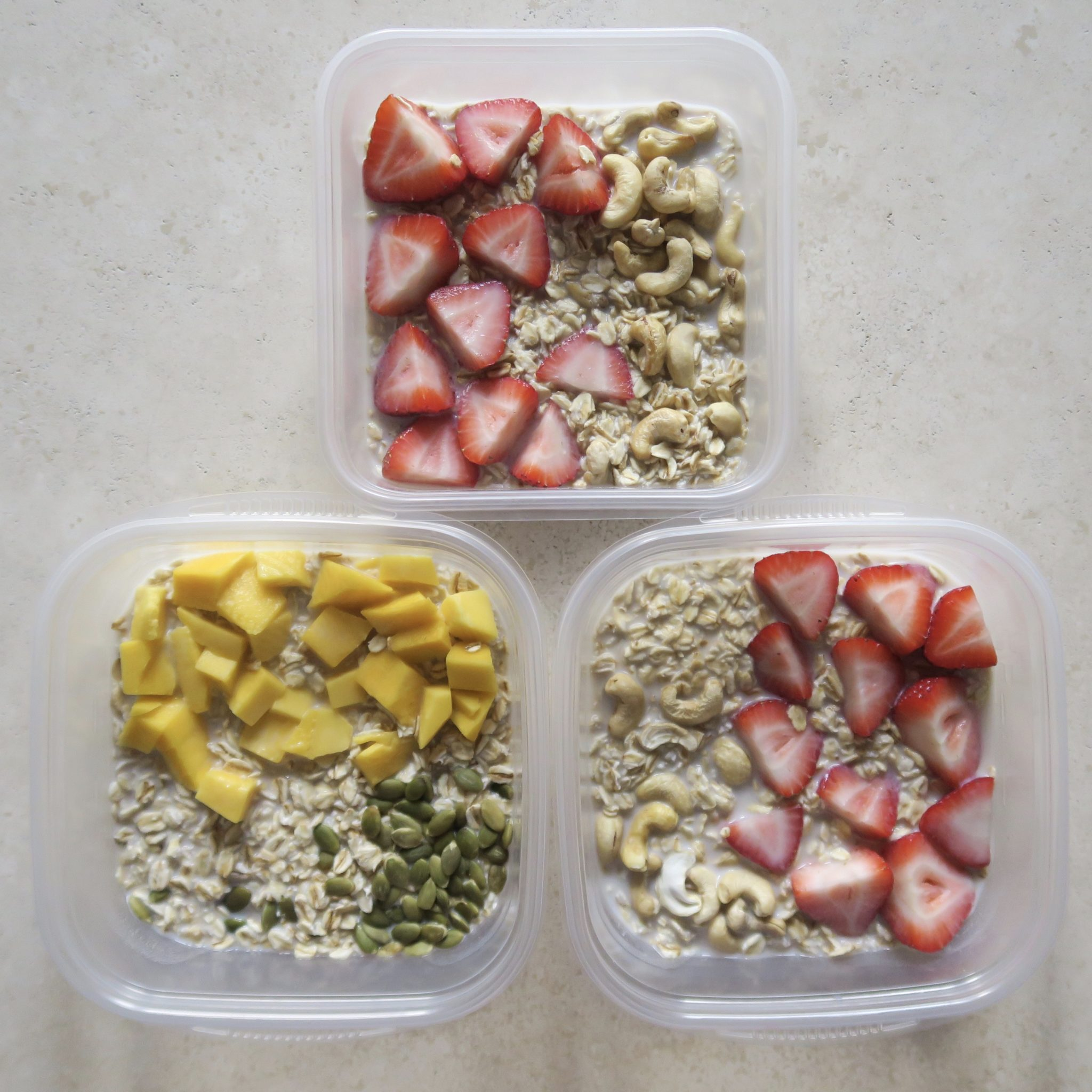 Breakfast Meal Prep Overnight Oats Master Recipe