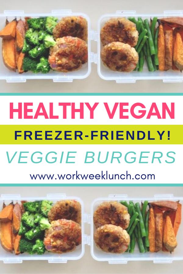Freezer Friendly Healthy Recipe Easy Veggie Burgers