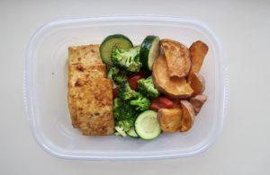 Lazy Meal Prep: Vegan Sheet Pan With Veggies & Tomatoes