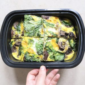 Go-To Breakfast Meal Prep: Baked Egg Frittata