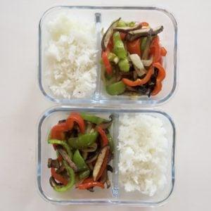 Portobello Mushroom Fajita Rice Bowls (Vegan, Gluten-Free)