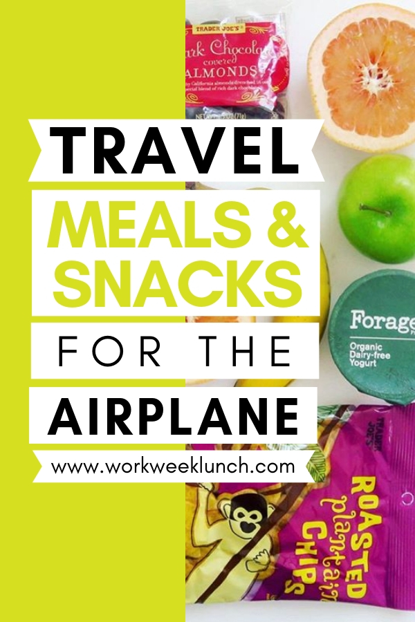 Travel Snacks for the Airplane or Road Trip