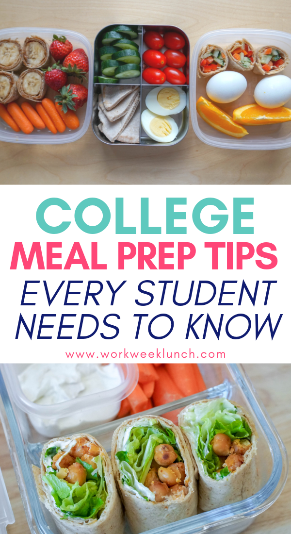 College Meal Prep Tips for Every Student