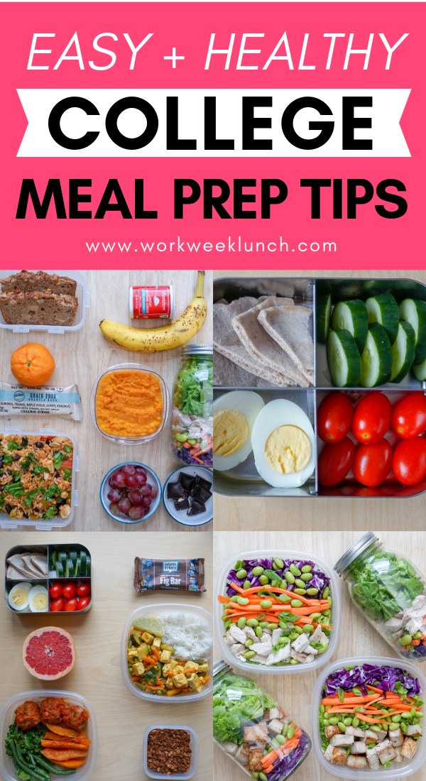 Easy and Healthy College Meal Prep Tips