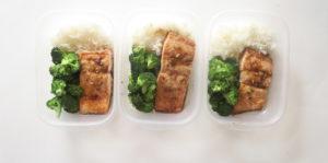 Salmon Teriyaki With Broccoli And Rice (Vegan Version Included!)