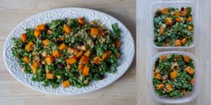 Classic Quinoa, Kale And Butternut Squash Salad
