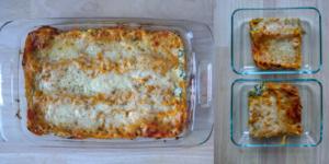 Vegetarian Butternut Squash & Spinach Lasagna