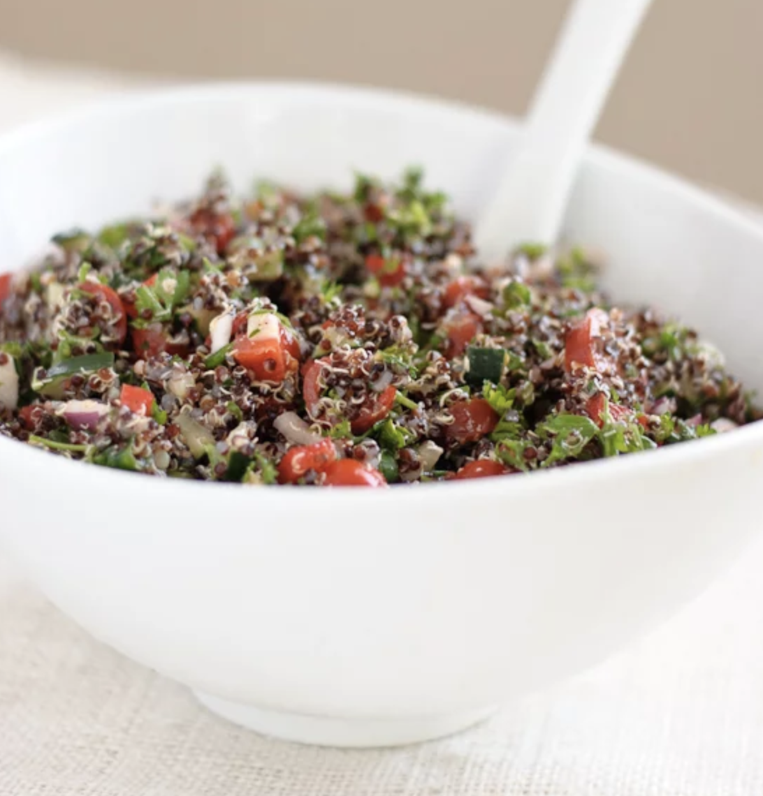 tabbouleh for meal prep by cookie and kate