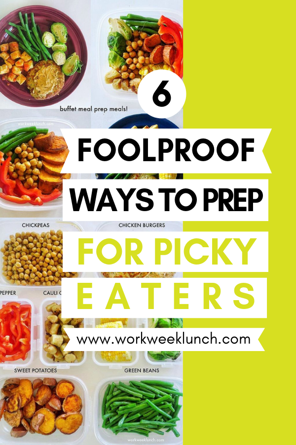 Meal Prep for Picky Eaters