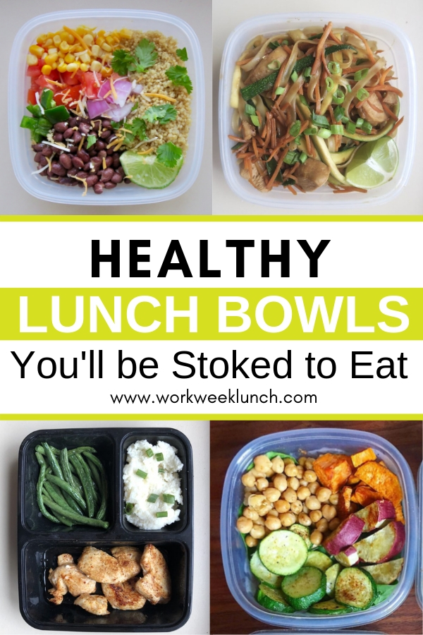 Healthy Lunch Bowl Recipes