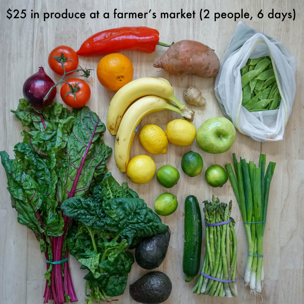 How to Meal Prep Vegetables & Fruit - Workweek Lunch