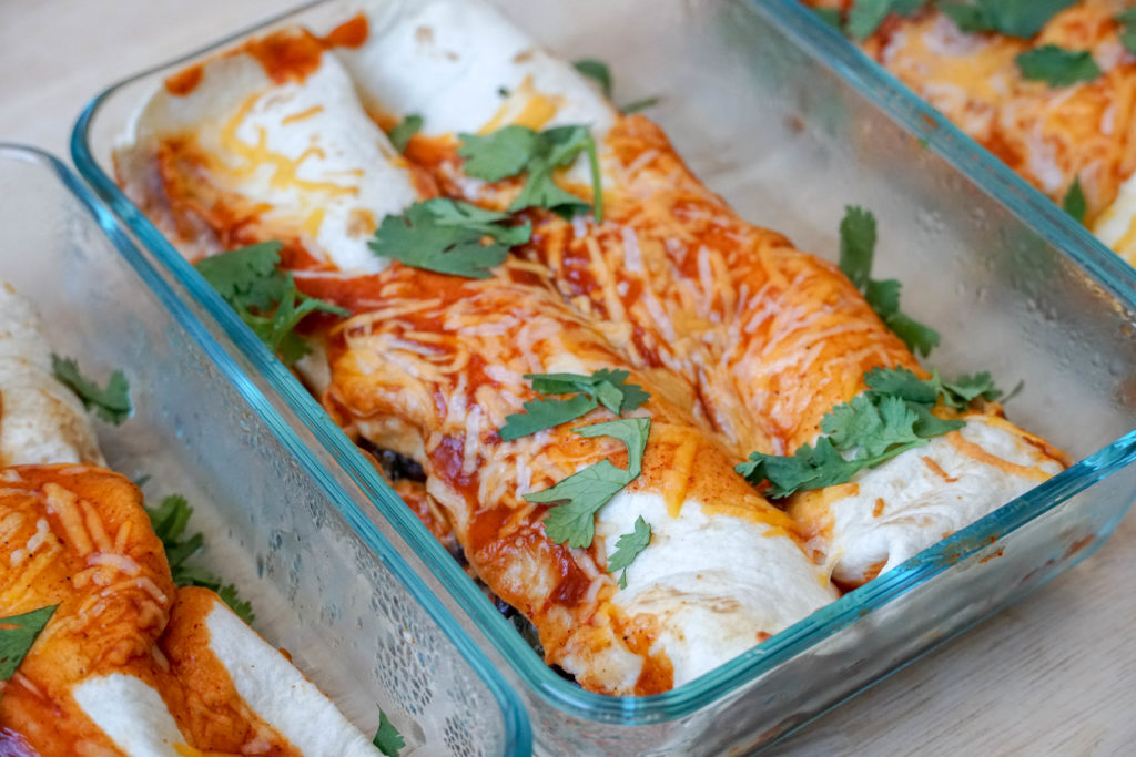enchiladas pantry dinner