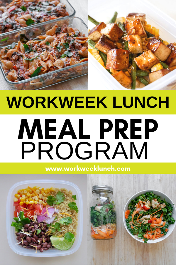 Workweek Lunch Meal Prep Program