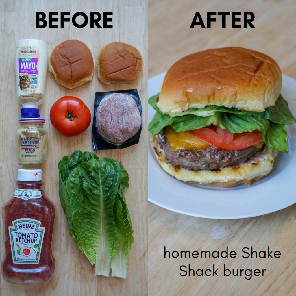 Talia S Favorite Homemade Shake Shack Burger Recipe