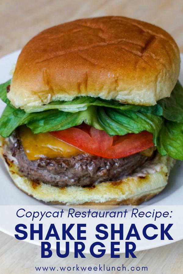 Copycat Restaurant Recipes: Shake Shack Burger and Shack Shack Sauce Recipes