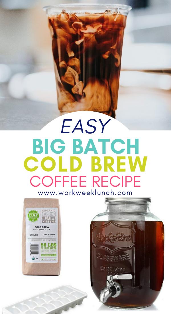 Easy Cold Brew Coffee Recipe