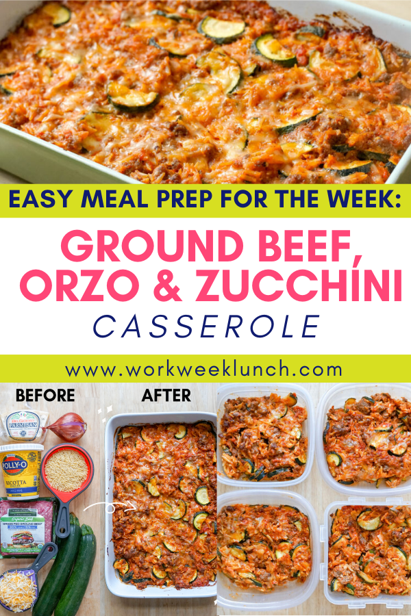Easy Meal Prep For the Week Casserole