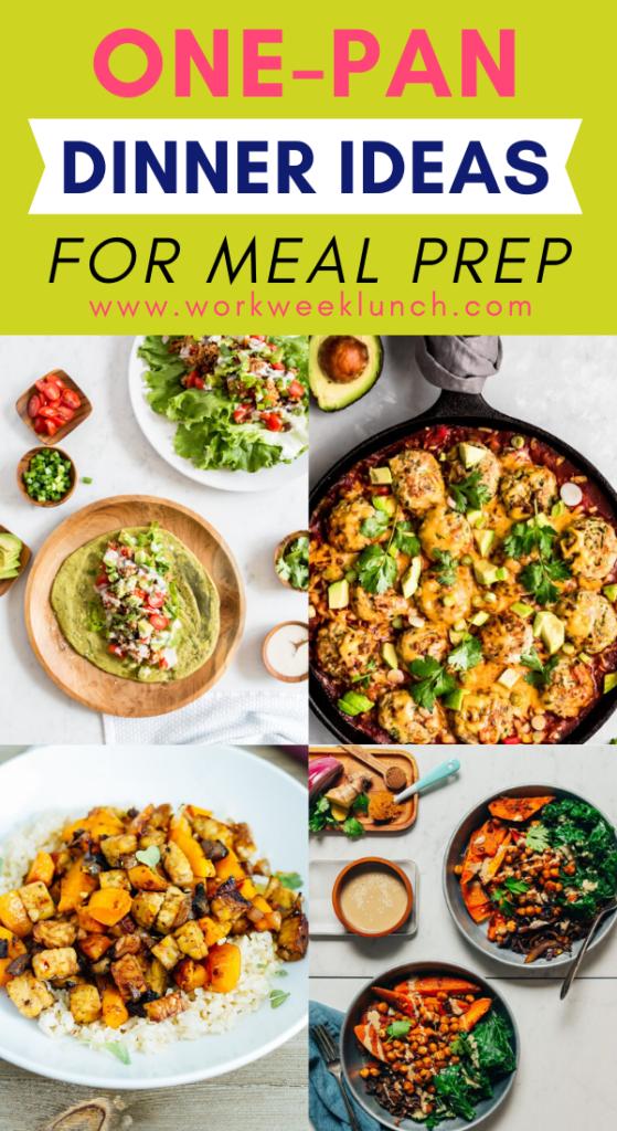 One-Pan Dinner Ideas Meal Prep