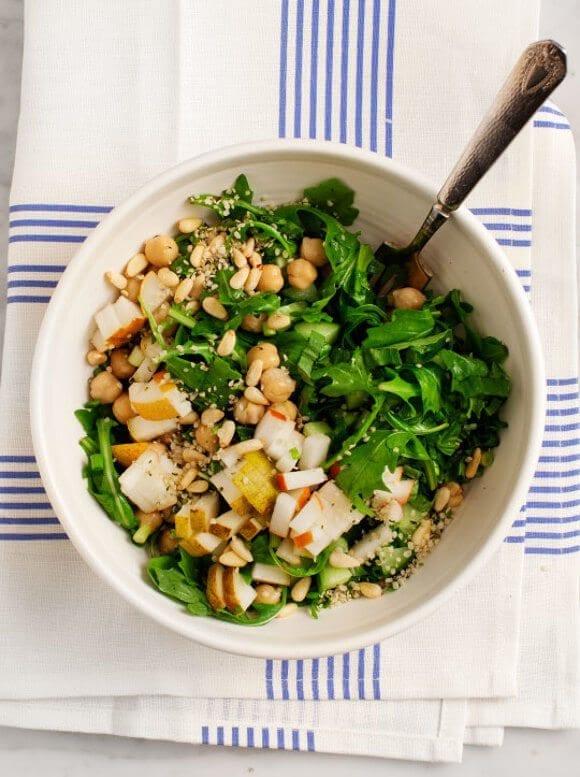 no-cook recipe chickpea salad