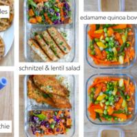 Workweek Preppers Meal Plan- April 1st, 2020
