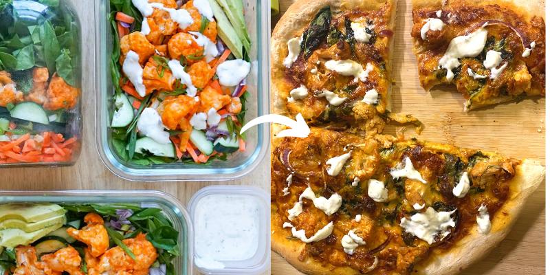 making leftovers more enjoyable