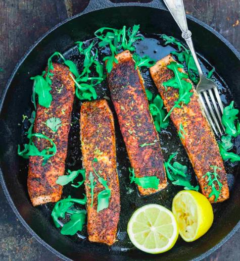 Summer Meal: Crispy Pan-Seared Salmon