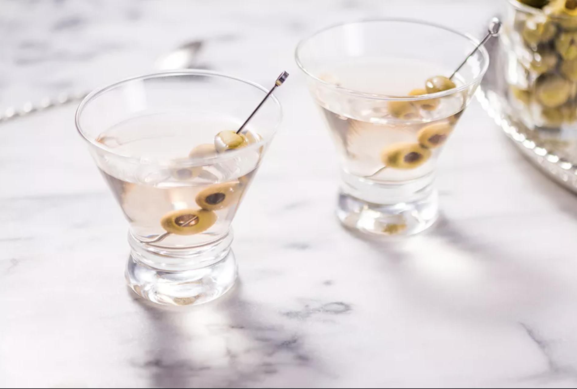 date night ideas gin martini
