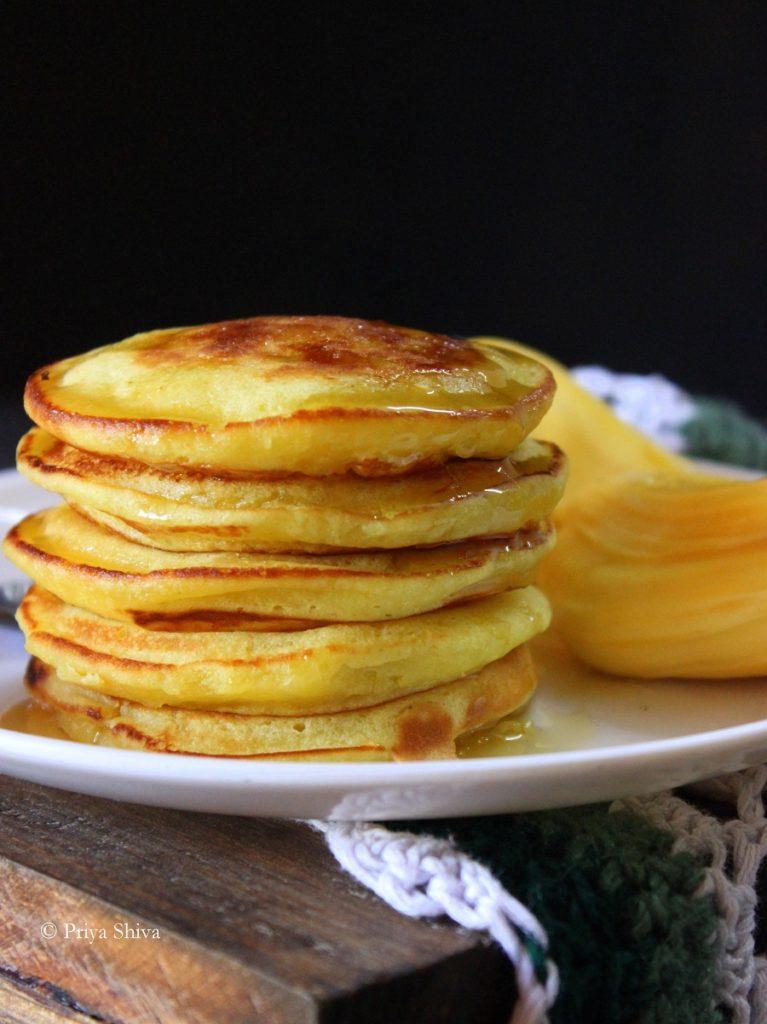 how to eat jackfruit pancakes