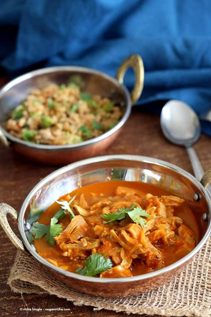 how to eat jackfruit curry