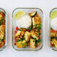 Easy Chicken Satay Recipe With Stir-Fried Veggies
