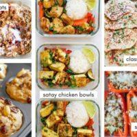 Workweek Prepper's Meal Plan- June 3, 2020