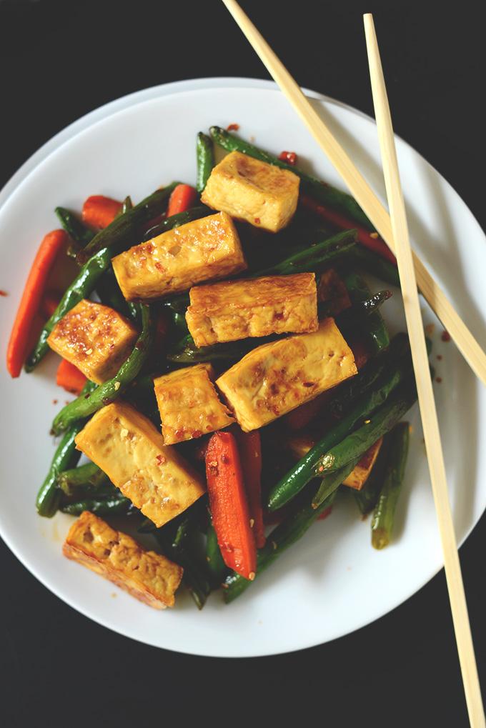 grocery budget tofu