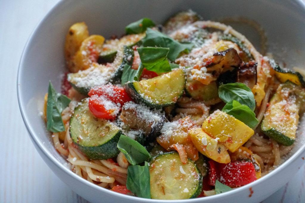 sheet pan easy ratatouille recipe