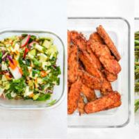 BBQ Tempeh & Sides: Vegetarian Buffet Meal Prep