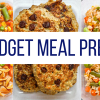 Meal Prep On A Budget: Spend $25 On Food This Week (Free Meal Plan)