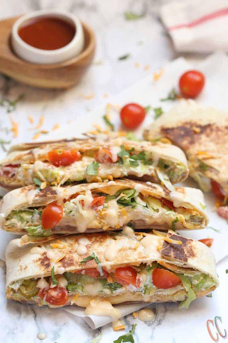 copycat restaurant recipes taco bell crunch wrap