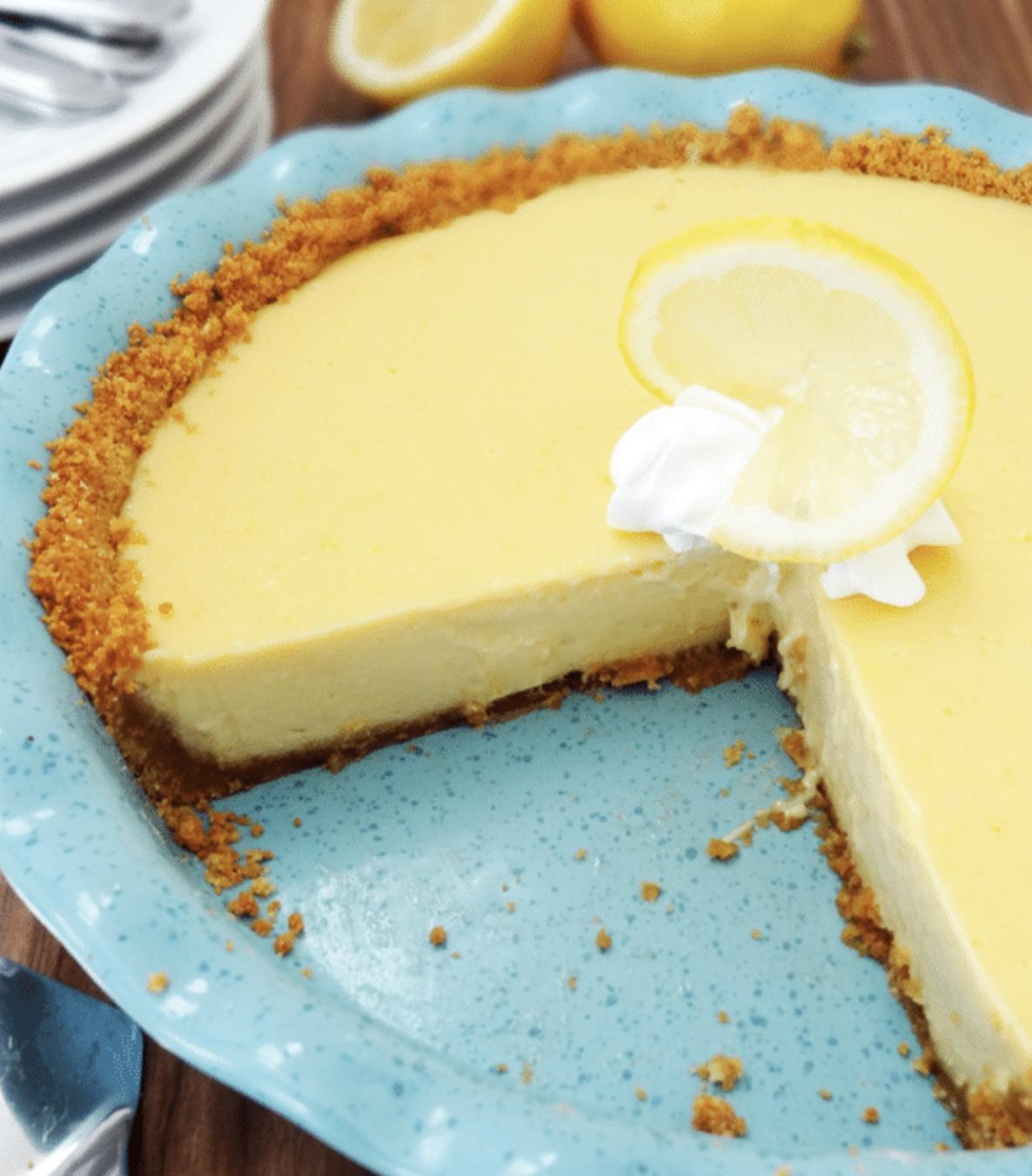 easy desserts lemon icebox pie