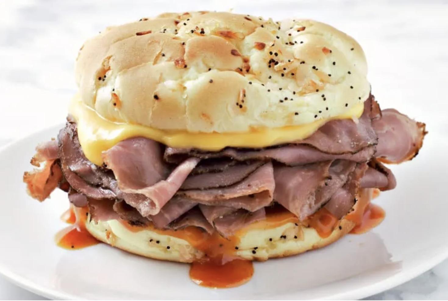 arbys roast beef sandwhich