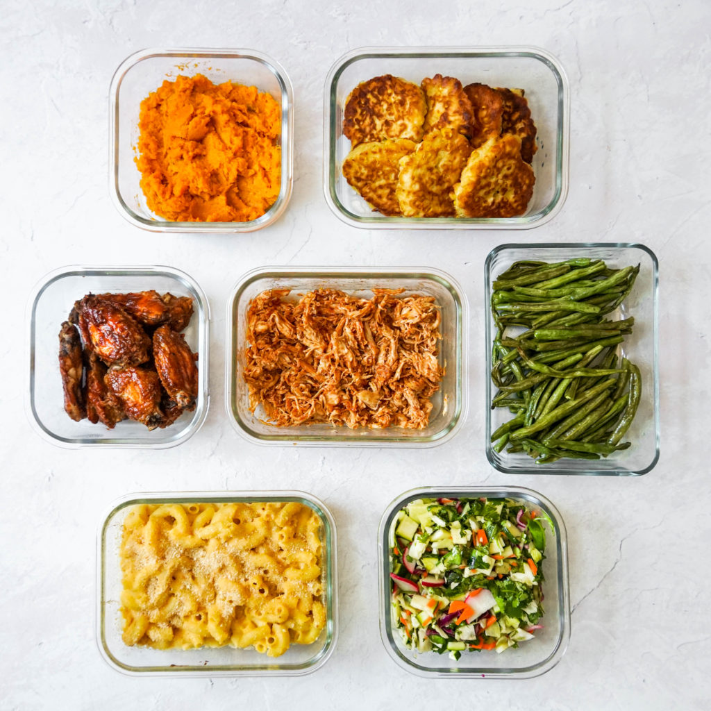 A full BBQ meal prep, perfect for holidays and cookouts