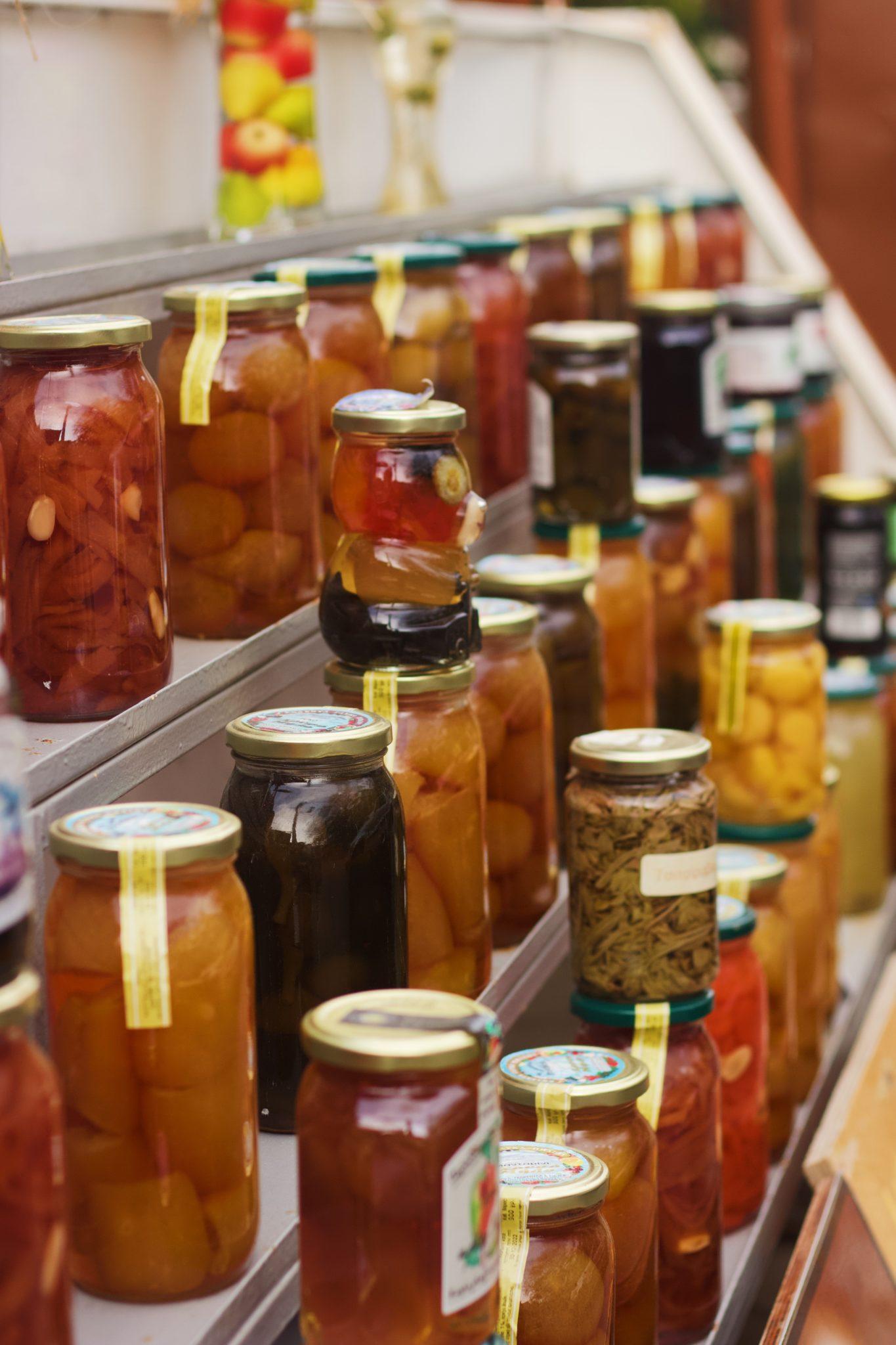 reuse packaging from pickle jars