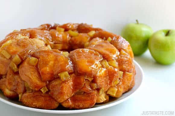 fall recipes monkey bread