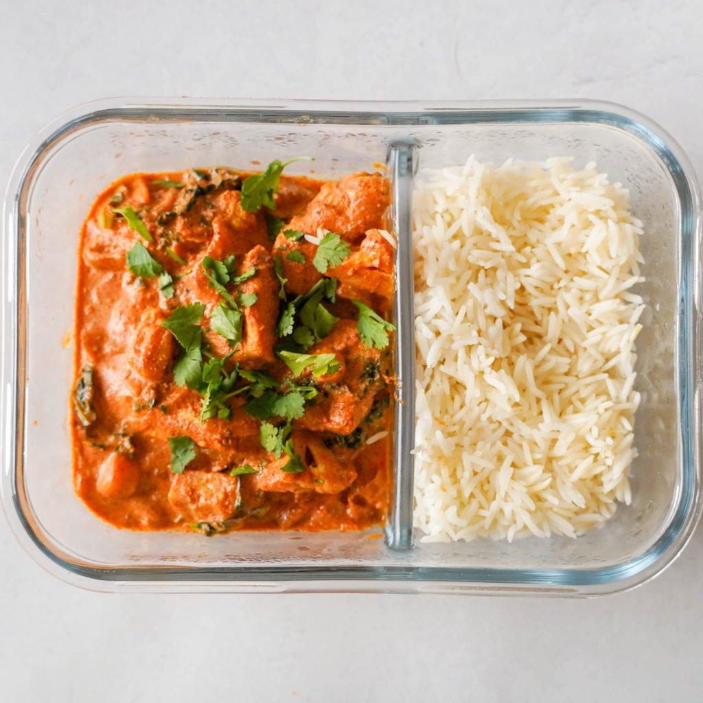 chicken tikka masala recipe for meal prep